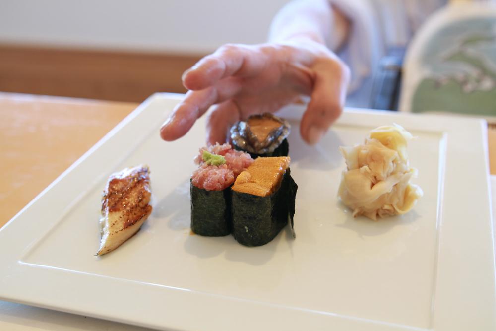 海の彩の寿司