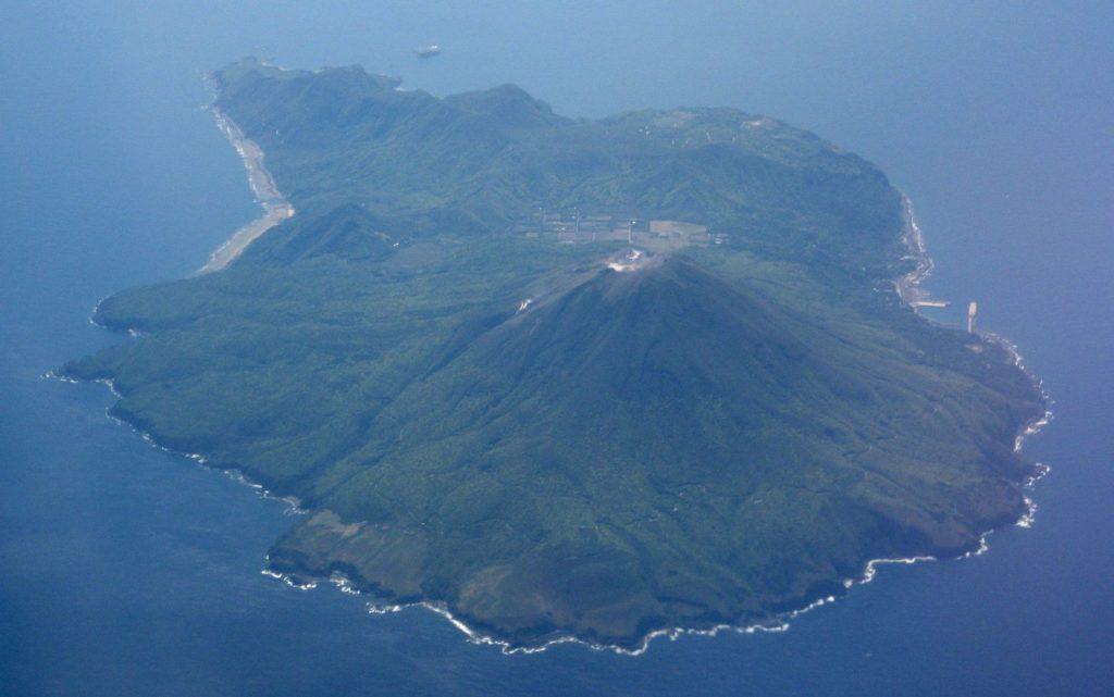 トカラ列島の中之島