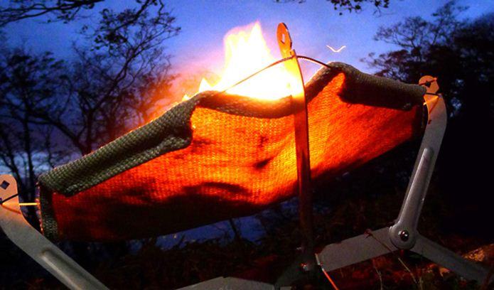 モノラルのソロ用焚き火台