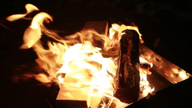 焚き火イメージ
